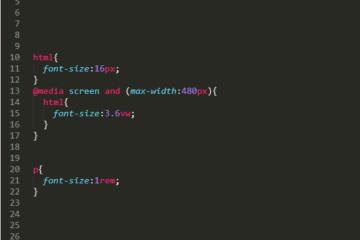 【HTML・CSS】文字サイズを可変にする